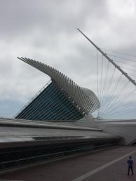 Day 1- Milwaukee Art Museum